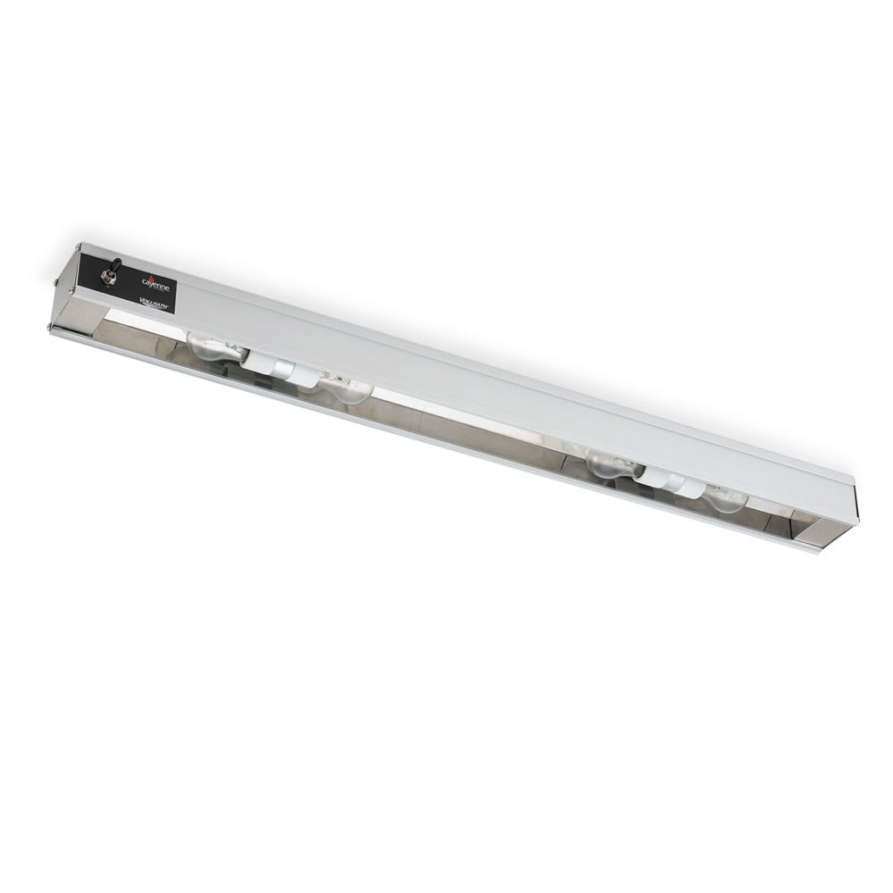"Vollrath 7286202 30"" Cayenne Light Strip - Includes (2) 60W Display Bulbs, 120v"