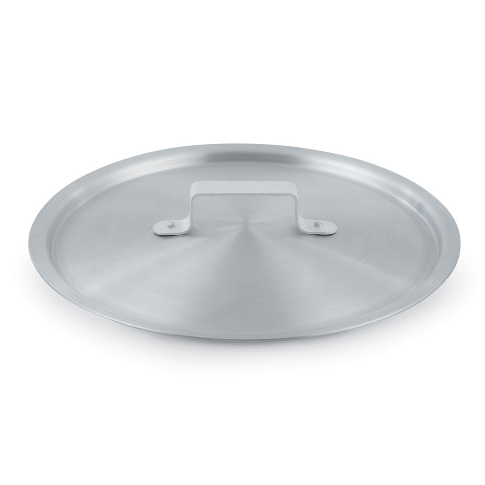 Vollrath 7345C 5-1/2-qt Arkadia Saucepan Cover - Natural-Finish Aluminum