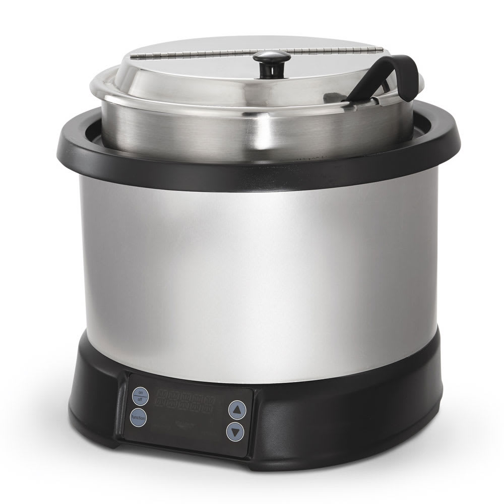Vollrath 74110110 11-qt Countertop Soup Warmer w/ Thermostatic Controls, 120v