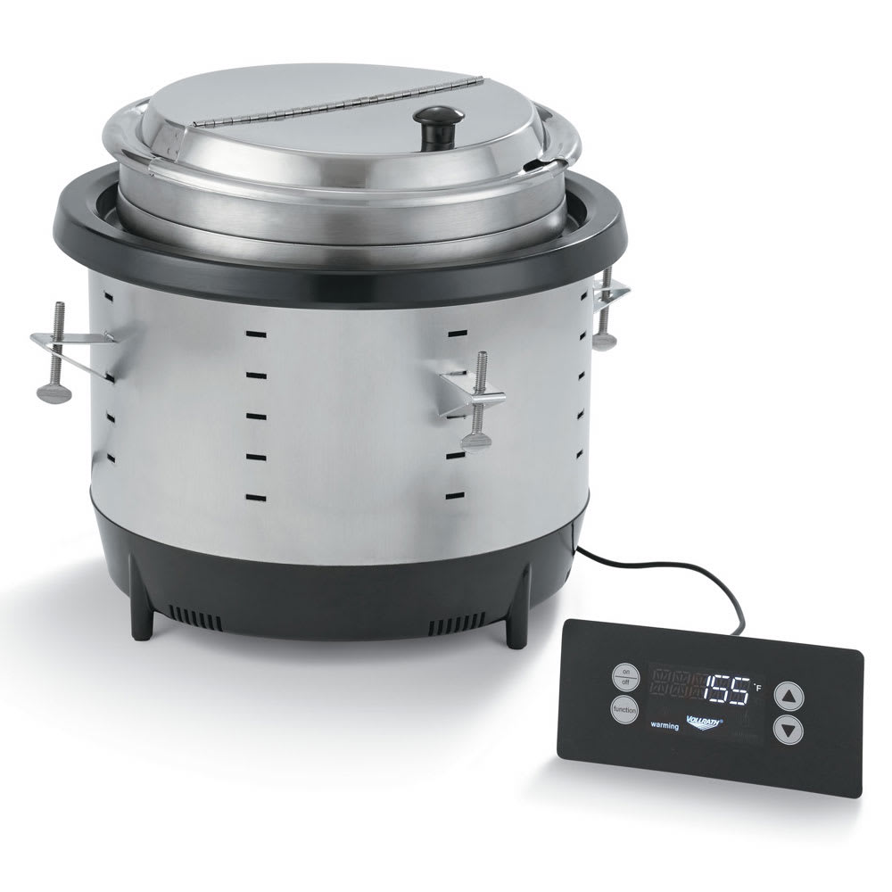 Vollrath 741101D 11-qt Drop-In Soup Warmer w/ Thermostatic Controls, 120v