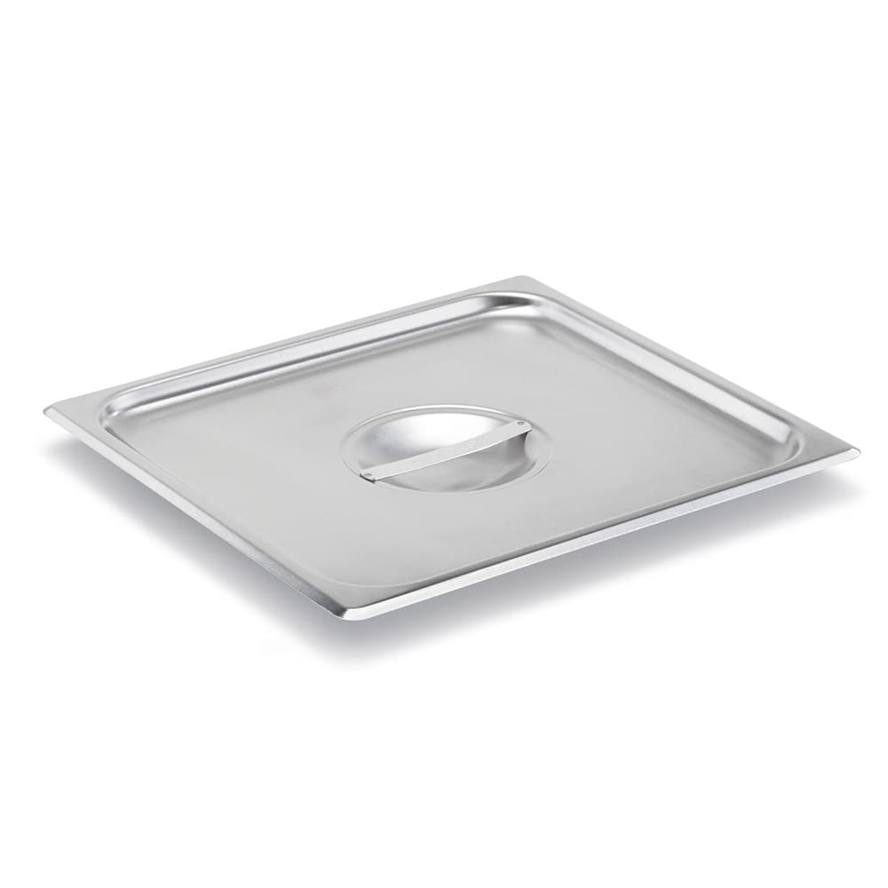Vollrath 75110 Two-Third Size Steam Pan Cover, Stainless