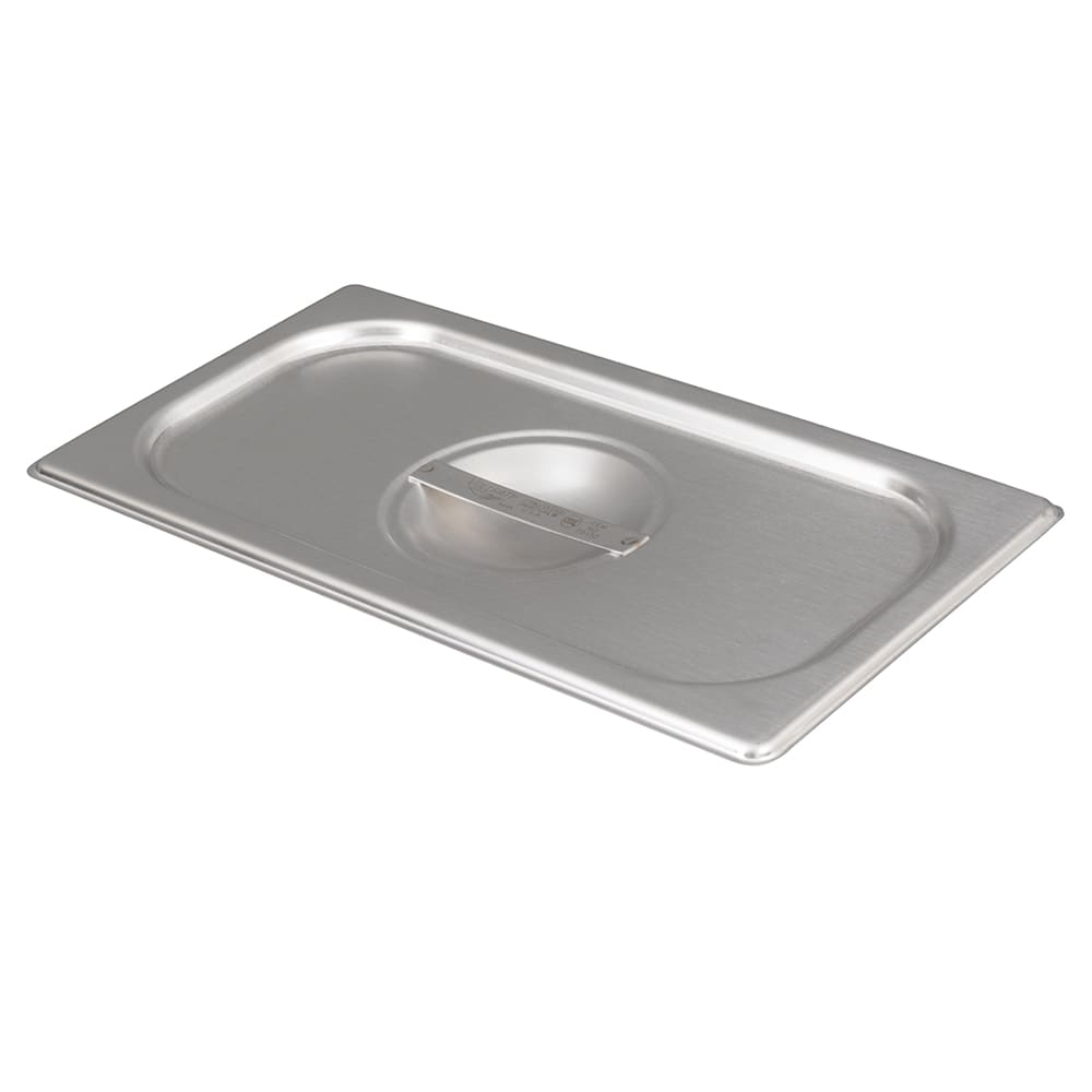 Vollrath 75130 Third-Size Steam Pan Cover, Stainless