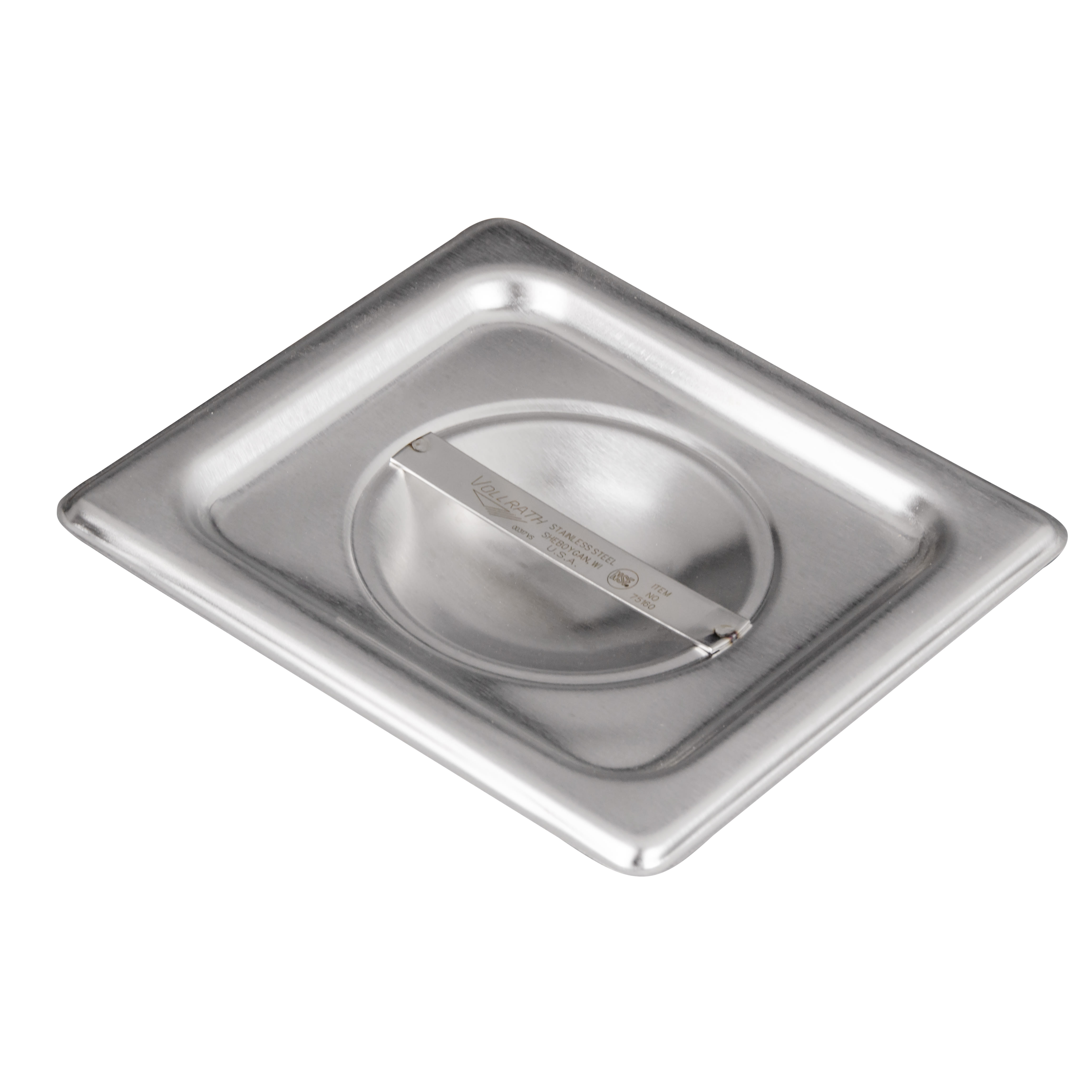 Vollrath 75160 Sixth-Size Steam Pan Cover, Stainless