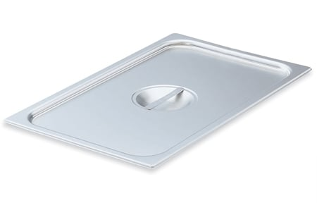 Vollrath 75180 Eighth-Size Steam Pan Cover, Stainless