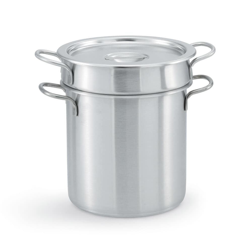 "Vollrath 77070 9.375"" Stainless Steel Double Boiler w/ 7-qt Capacity"