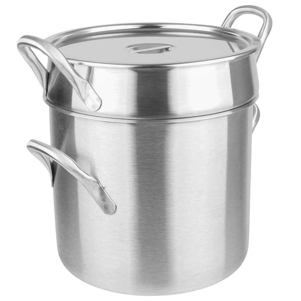 """Vollrath 77130 12.8125"""" Stainless Steel Double Boiler w/ 20 qt Capacity"""