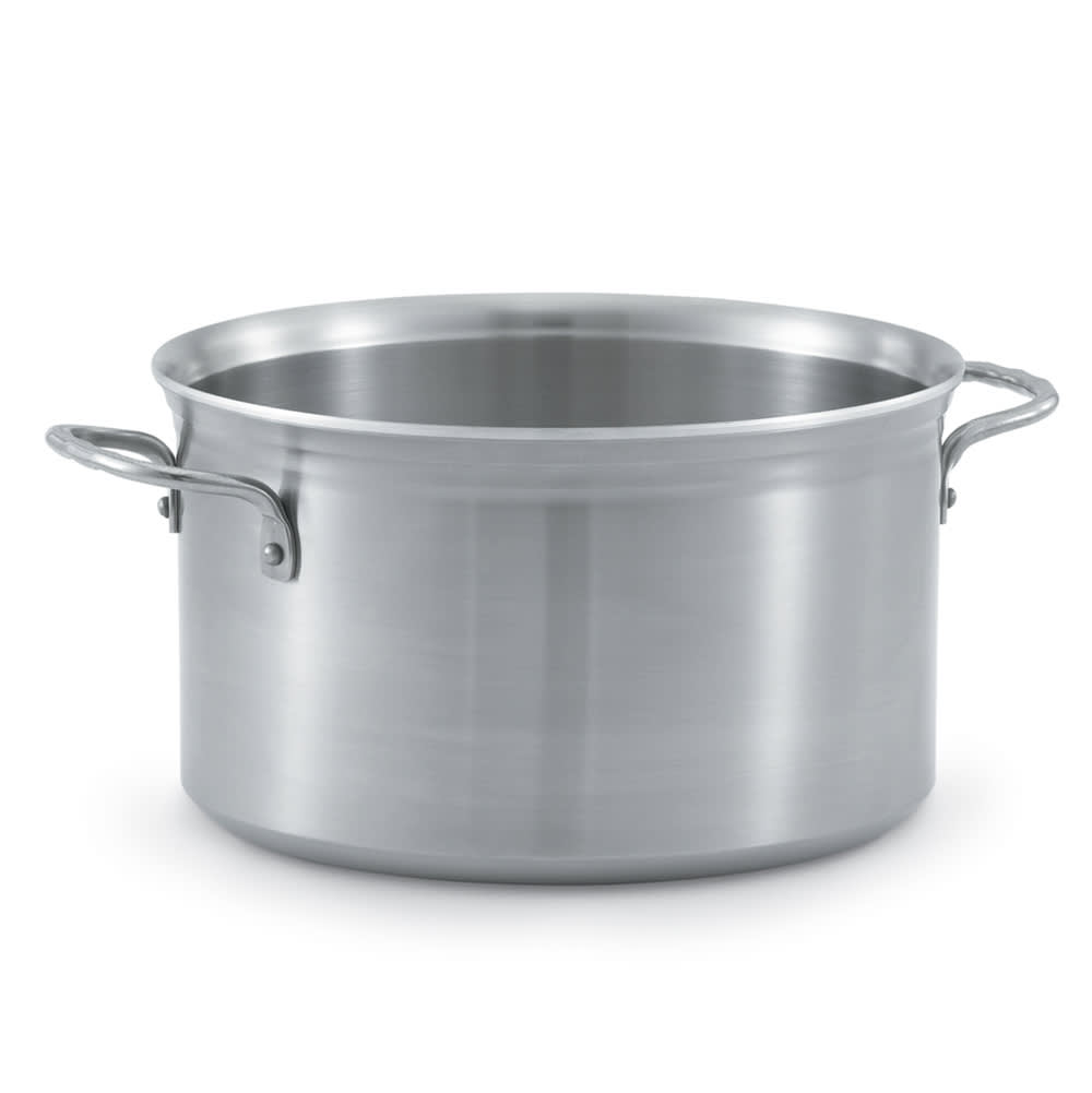 Vollrath 77520 8 qt Stainless Steel Stock Pot - Induction Ready