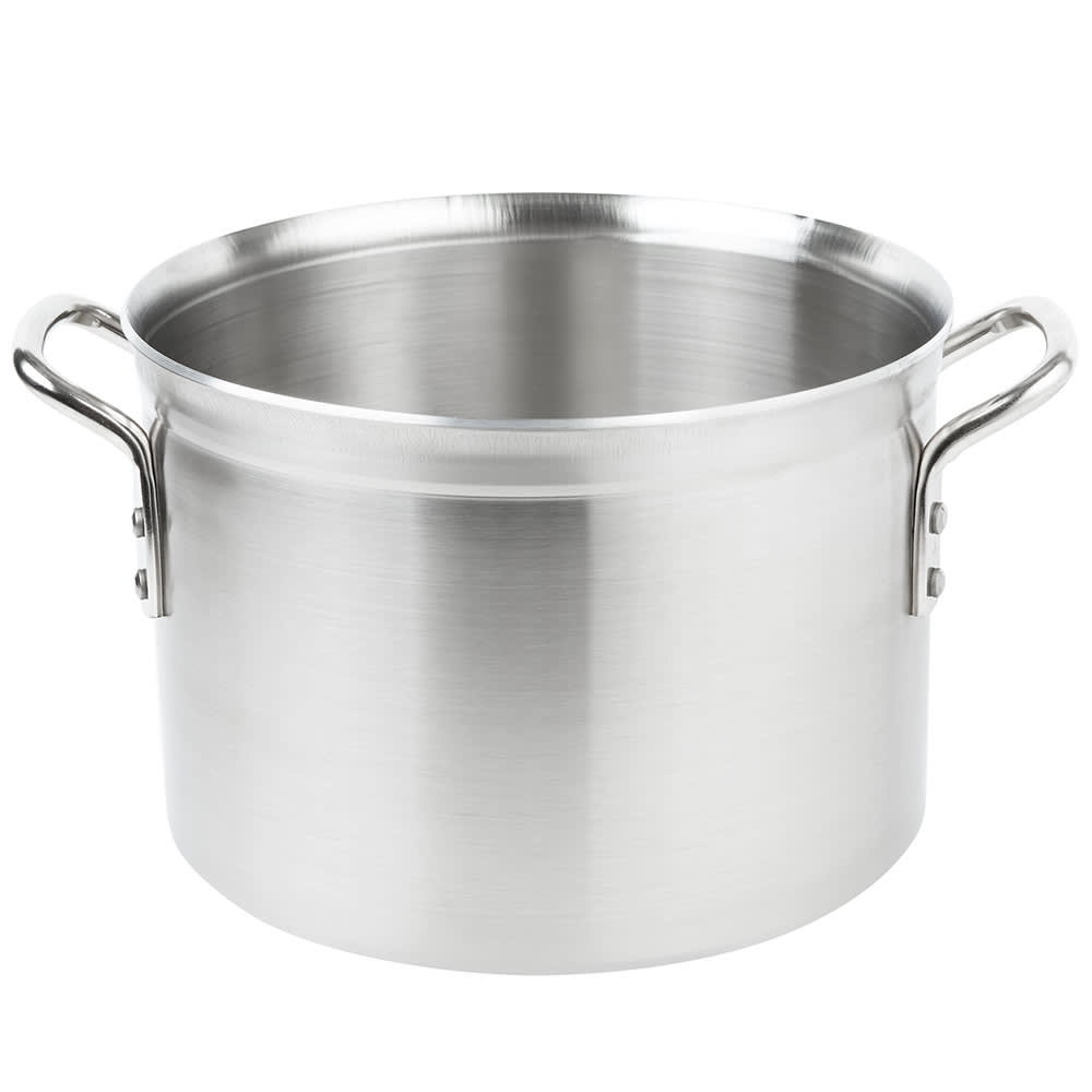 Vollrath 77522 16 qt Stainless Steel Stock Pot - Induction Ready