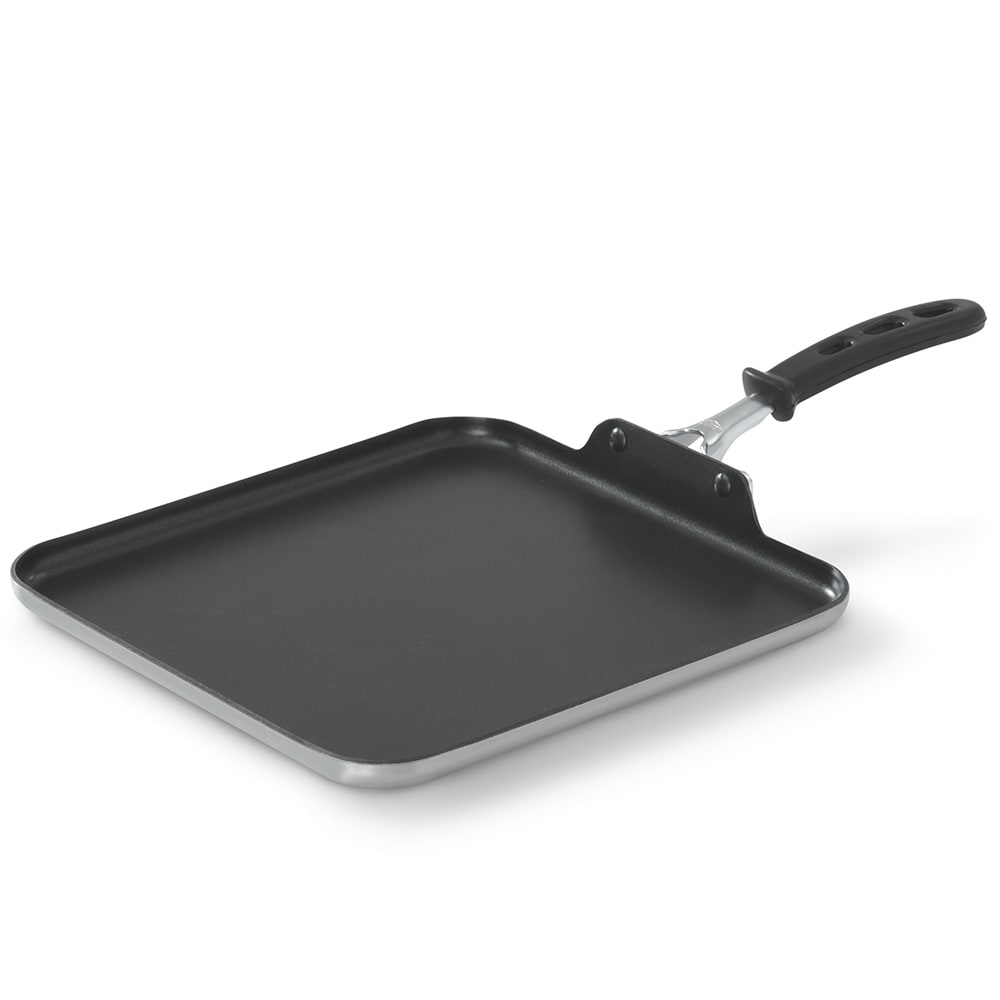 "Vollrath 12"" Square 3 ply Griddle - Non-Stick, Stainless/Aluminum - 77530"
