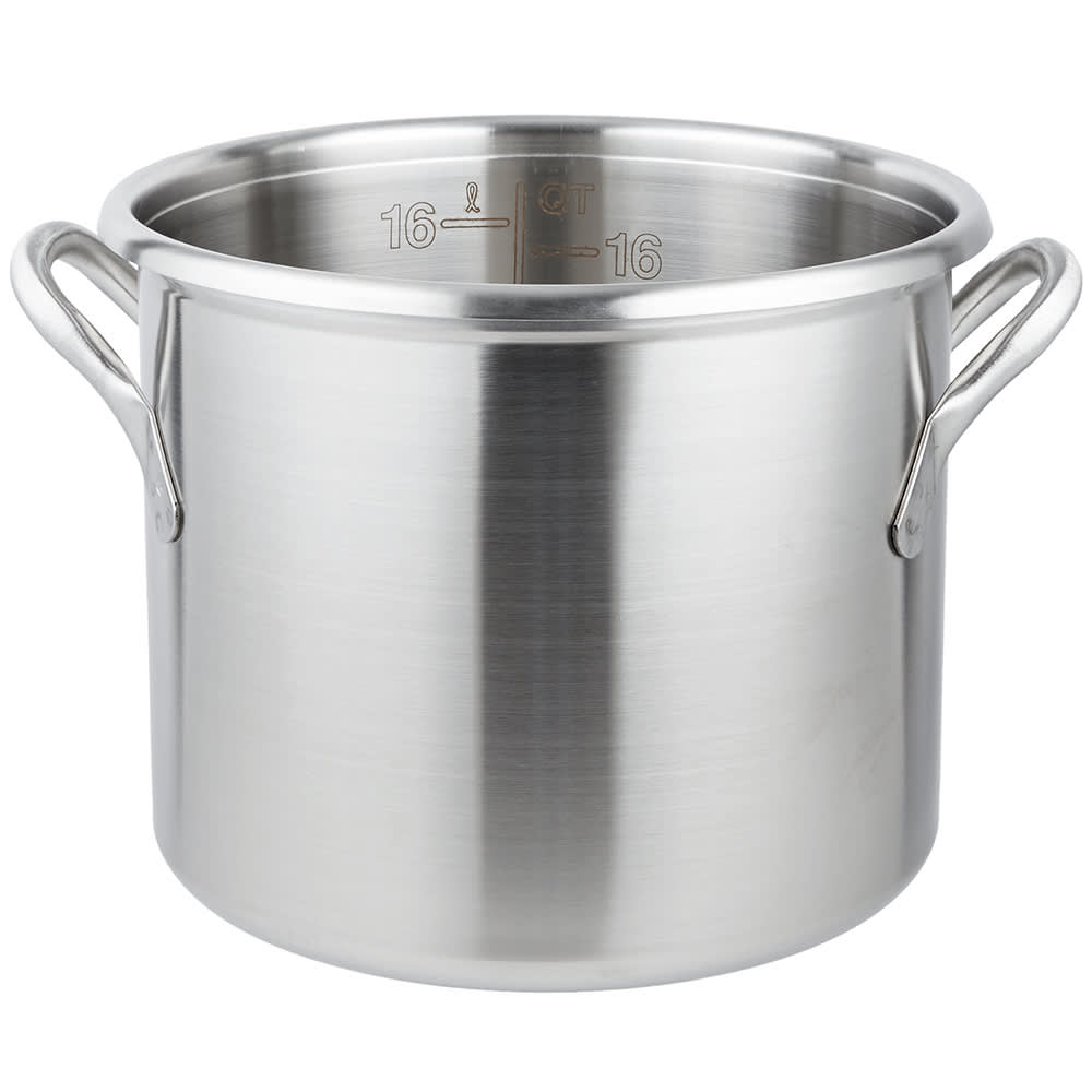 Vollrath 77610 20 Qt Stainless Steel Stock Pot