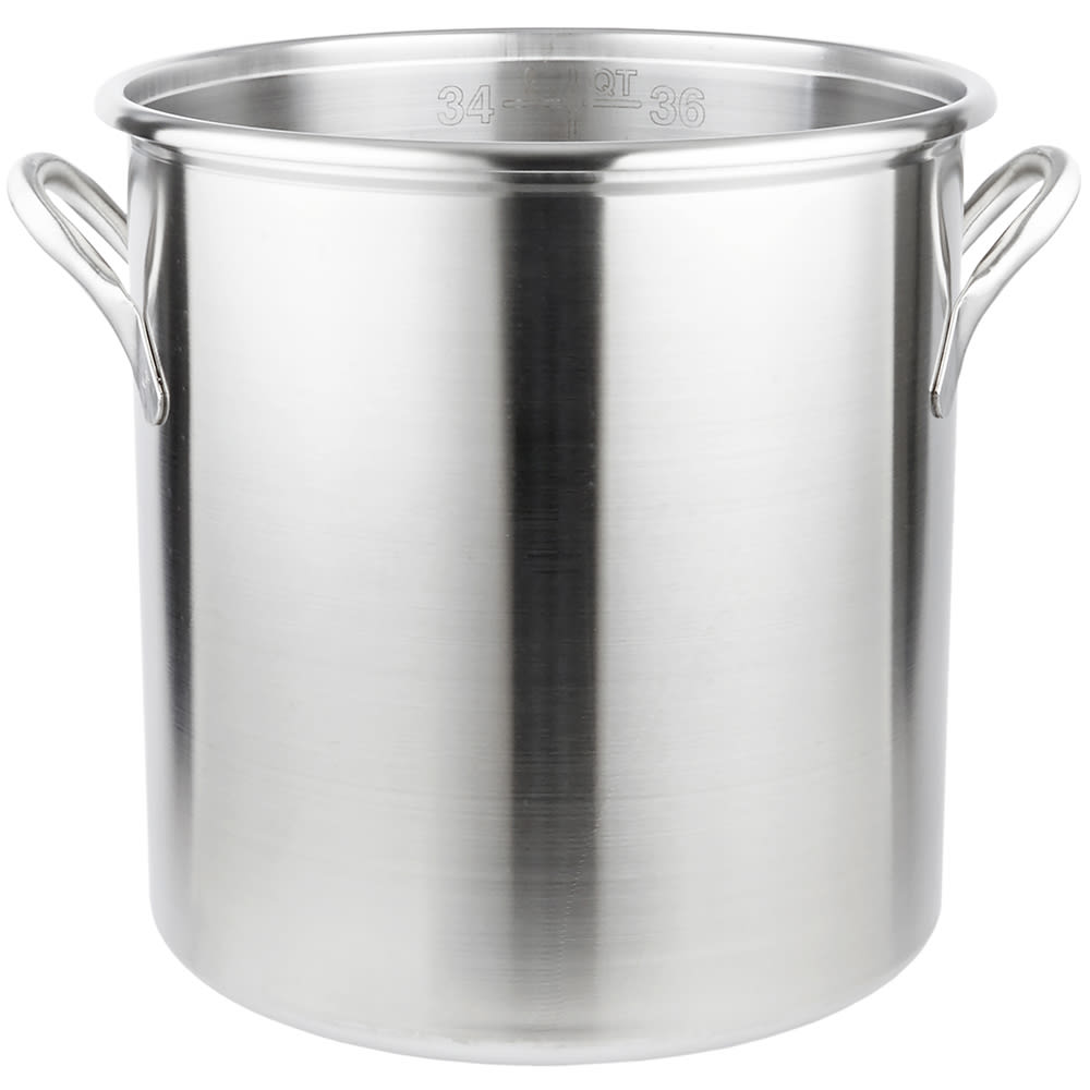 Vollrath 77630 38.5-qt Stainless Steel Stock Pot