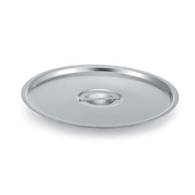 """Vollrath 77662 12"""" Stock Pot Cover for 77600,77610 &77620, Stainless"""