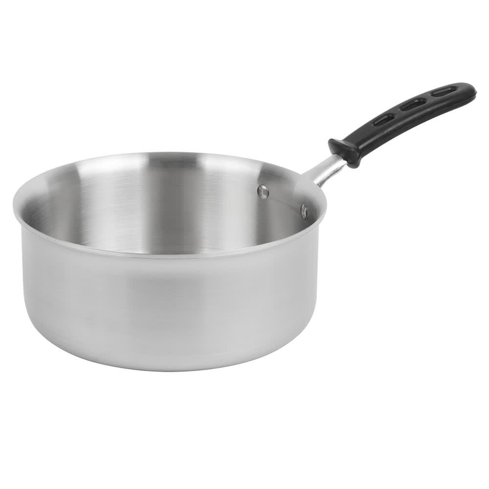 Vollrath 77742 4.5 qt Stainless Steel Saucepan w/ Vented Silicone Handle