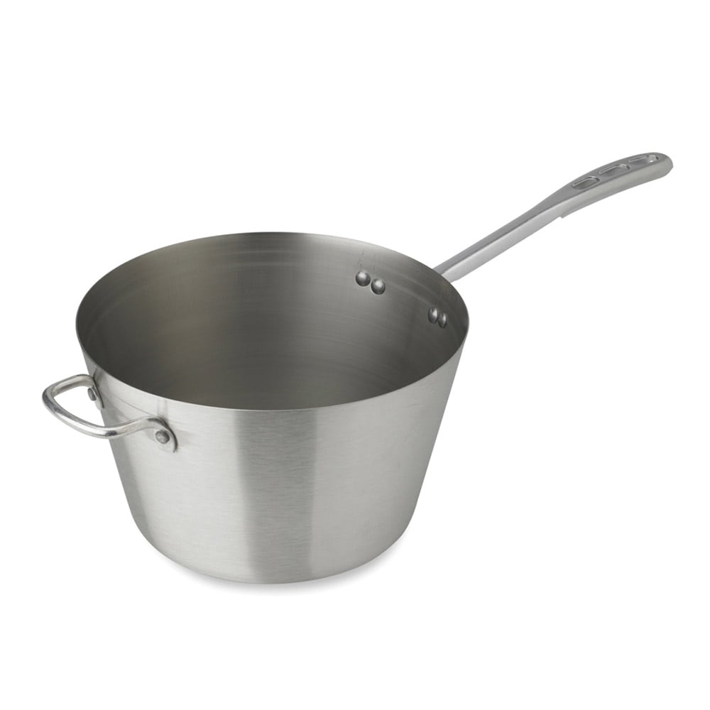 Vollrath 78441 4.5 qt Stainless Steel Saucepan w/ Vented Silicone Handle