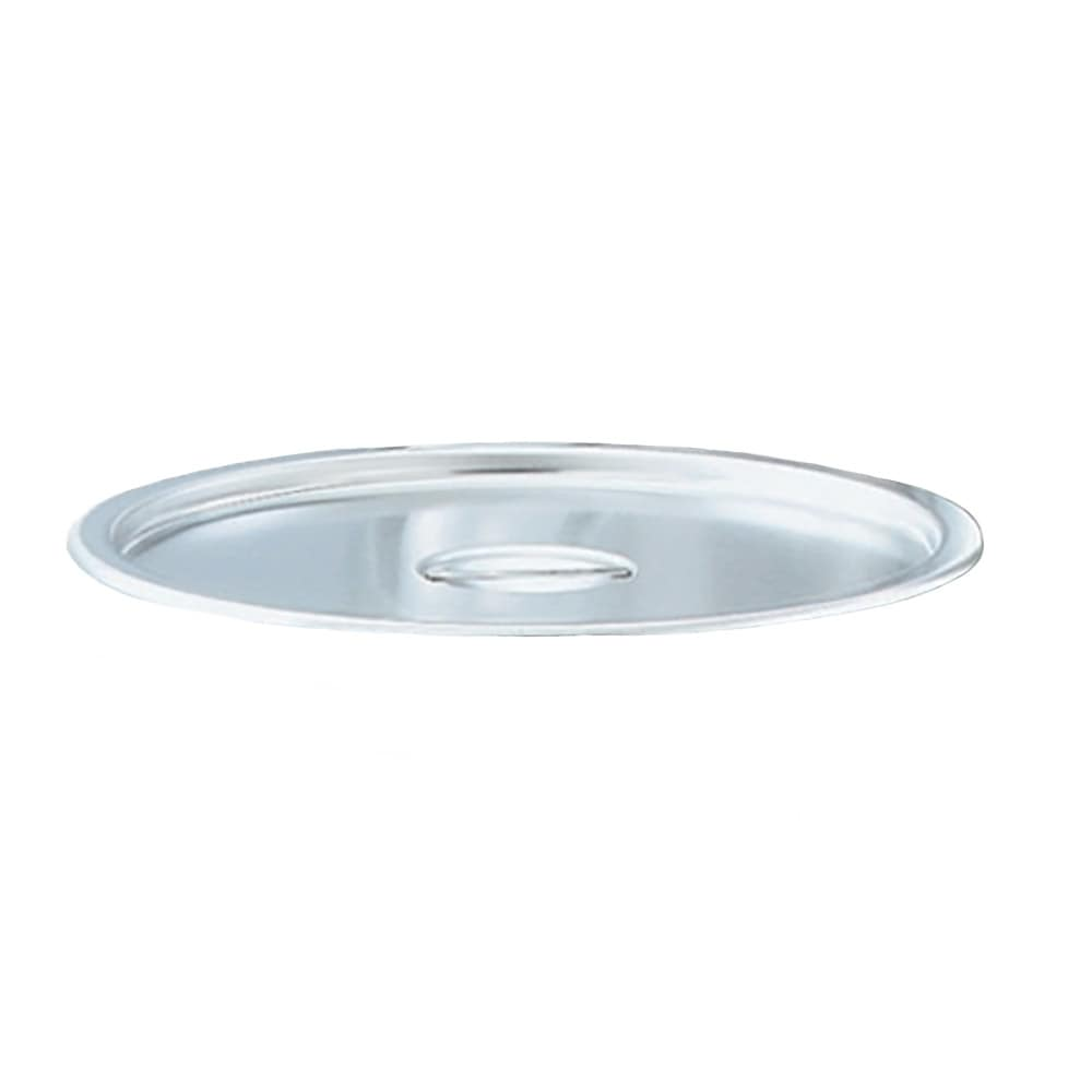 """Vollrath 78682 13.87"""" Stock Pot Dome Cover for 57025, Stainless"""
