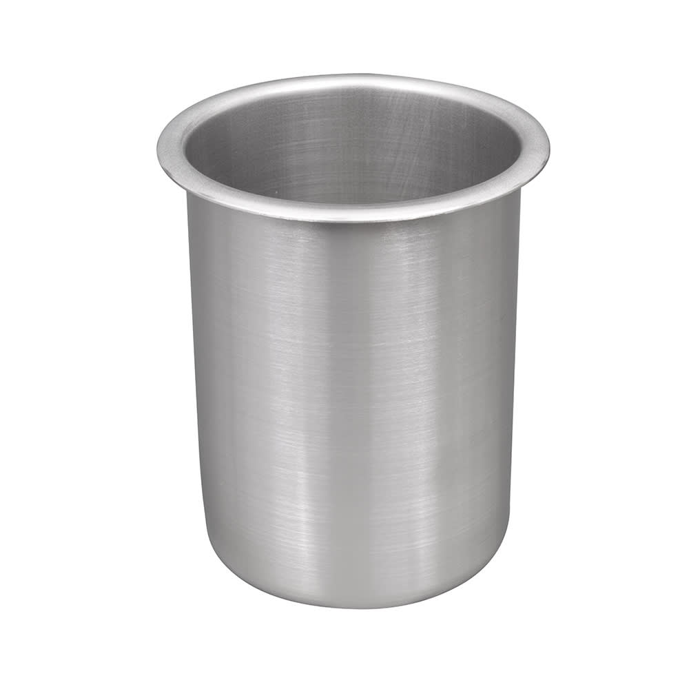 "Vollrath 78710 1-1/4-qt Bain Marie Pot - Fits 4-1/4"" Opening, Stainless"