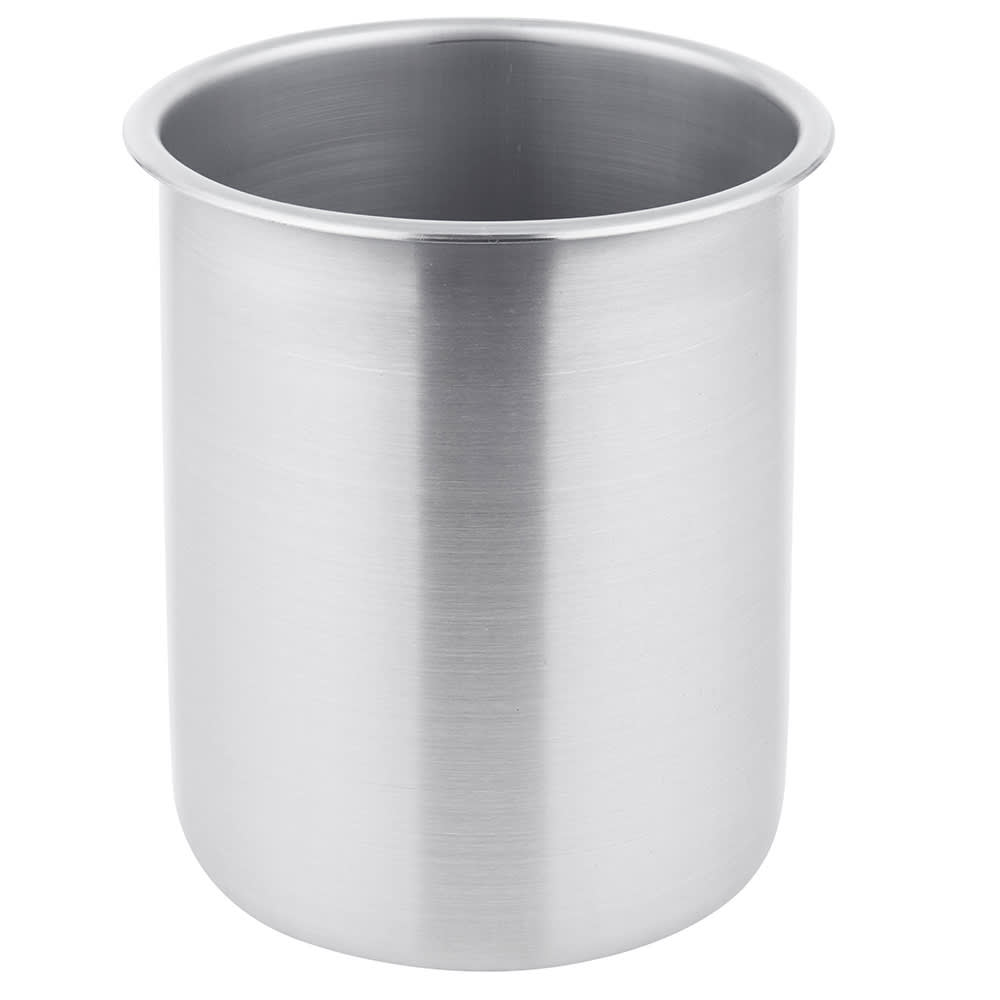 "Vollrath 78730 3-1/2-qt Bain Marie Pot - Fits 6-1/4"" Opening, Stainless"