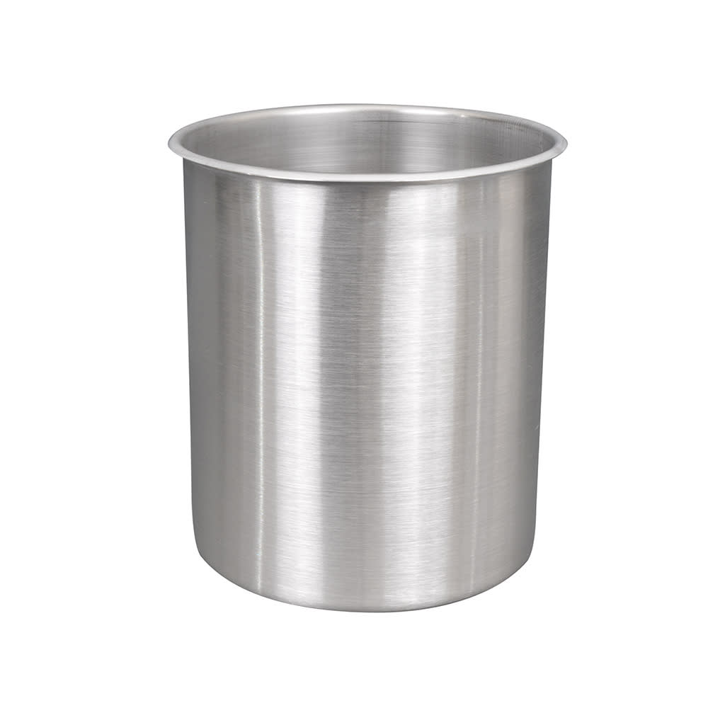 "Vollrath 78820 12-qt Bain Marie Pot - Fits 9-1/8"" Opening, Stainless"