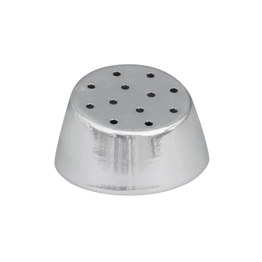 Vollrath 802T 2 oz Salt/Pepper Shaker Replacement Cap - Chrome