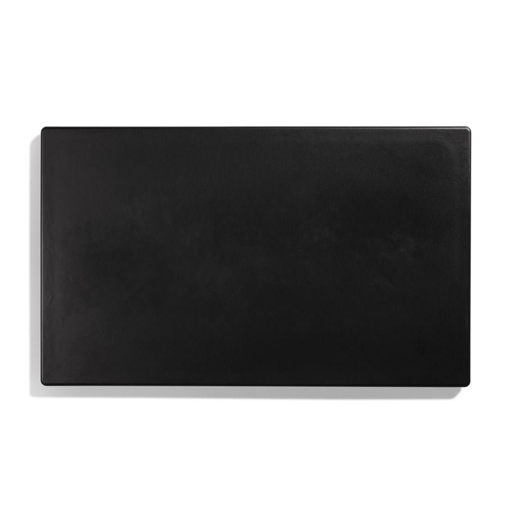 "Vollrath 8240018 Blank Miramar Solid Template - 12x20"" Black"