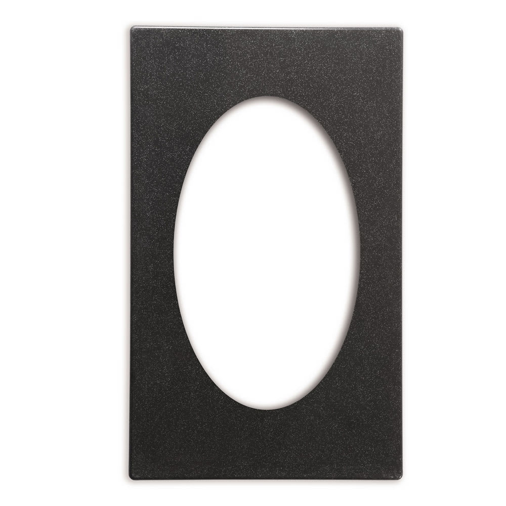 "Vollrath 8240110 Miramar Template - (1) Large Oval Decorative Pan, 12x20"" Night Sky"