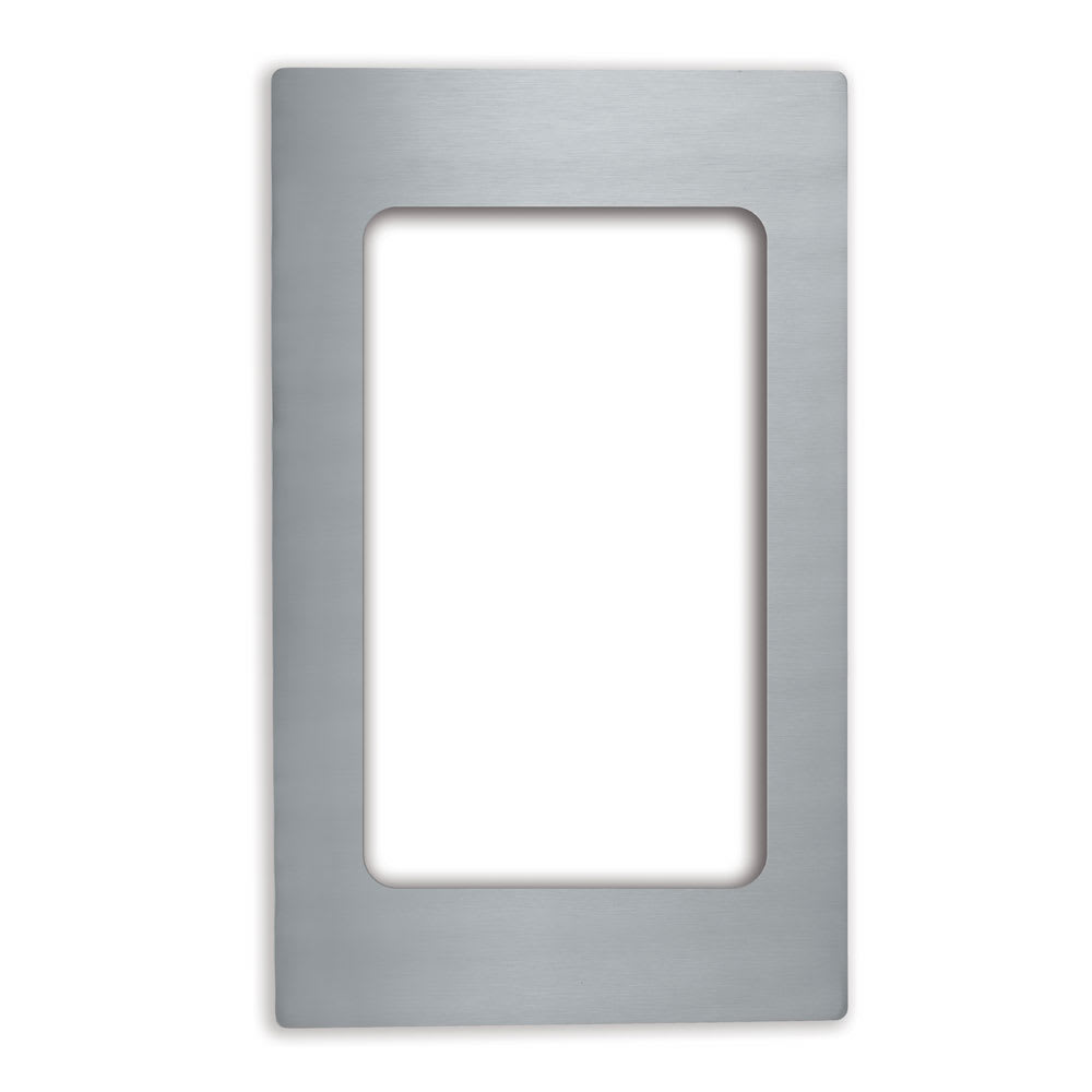 """Vollrath 8240514 Miramar Template - (1) Rectangle 3/4 Size Pan, 12x20"""" Stainless"""