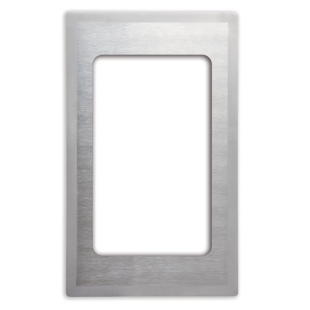 "Vollrath 8240516 Miramar Template - (1) Rectangle 3/4 Size Pan, 12x20"" Satin-Finish Stainless"