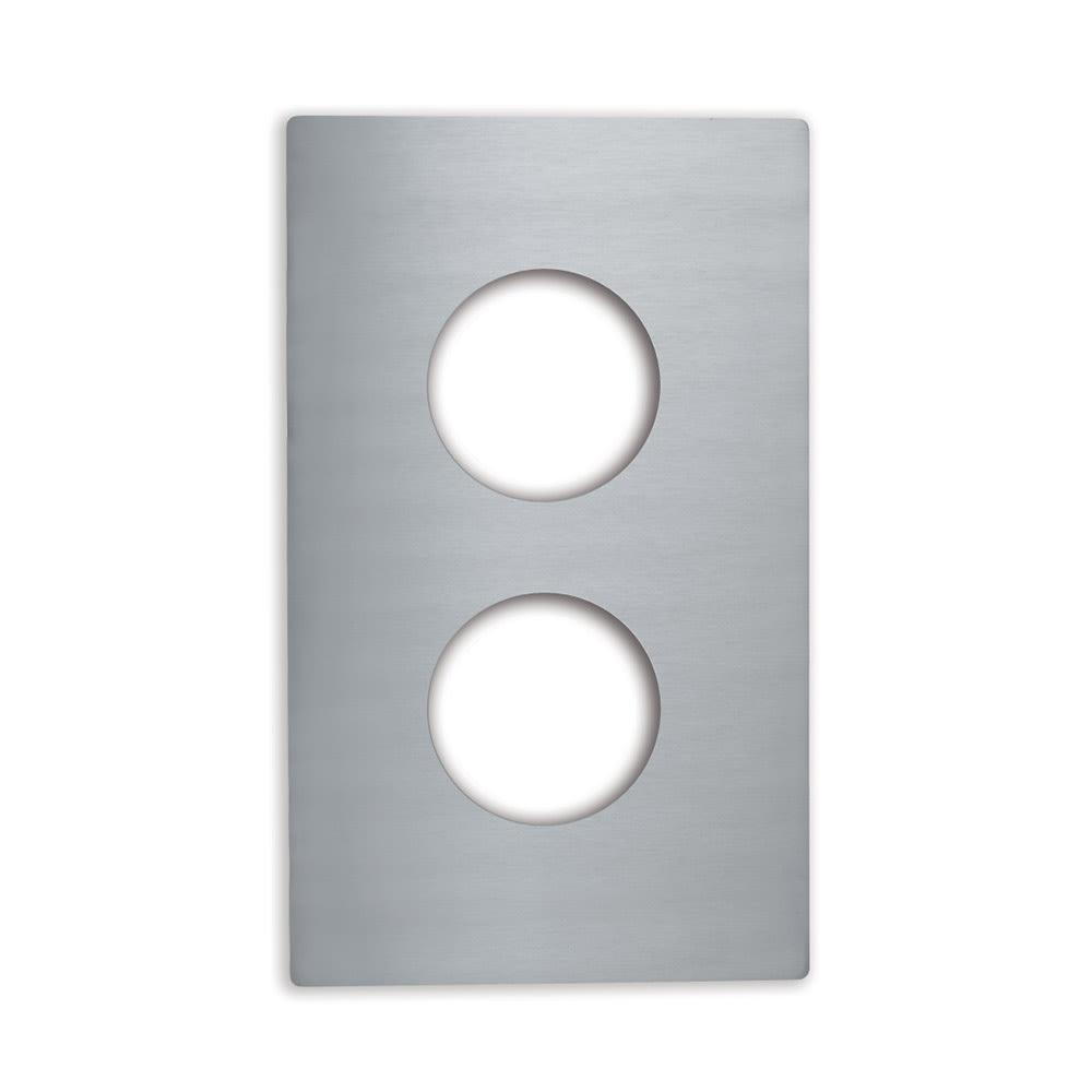 Vollrath 8242214 Miramar Single-Size Template - (2)1-qt Butter Warmer, Stainless