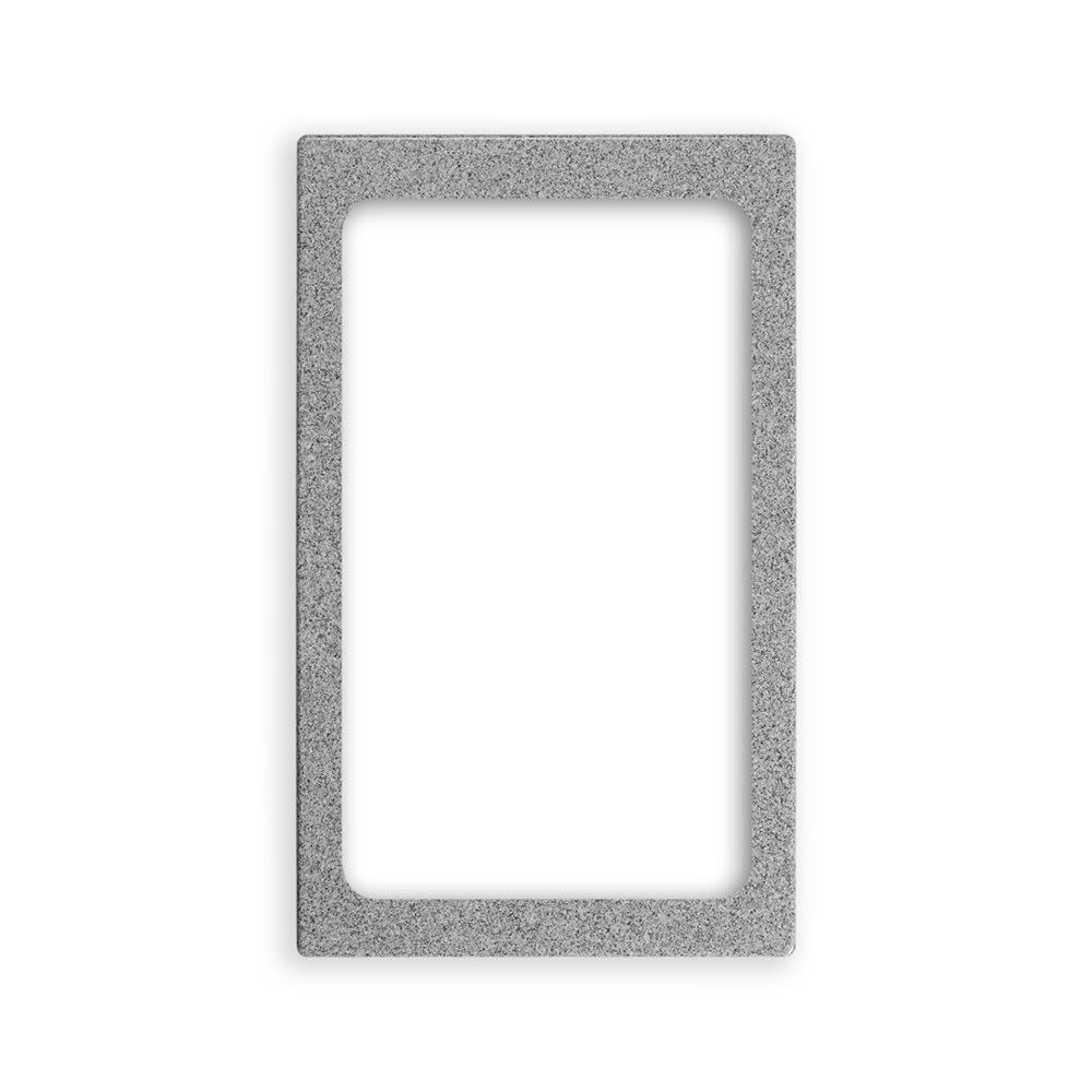 """Vollrath 8244024 Miramar Full-Size Pan Template - 12x20"""" Gray Granite"""