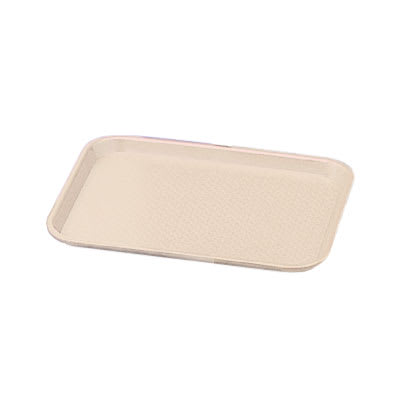 """Vollrath 86106 Fast Food Tray - 10x14"""" Almond Poly"""