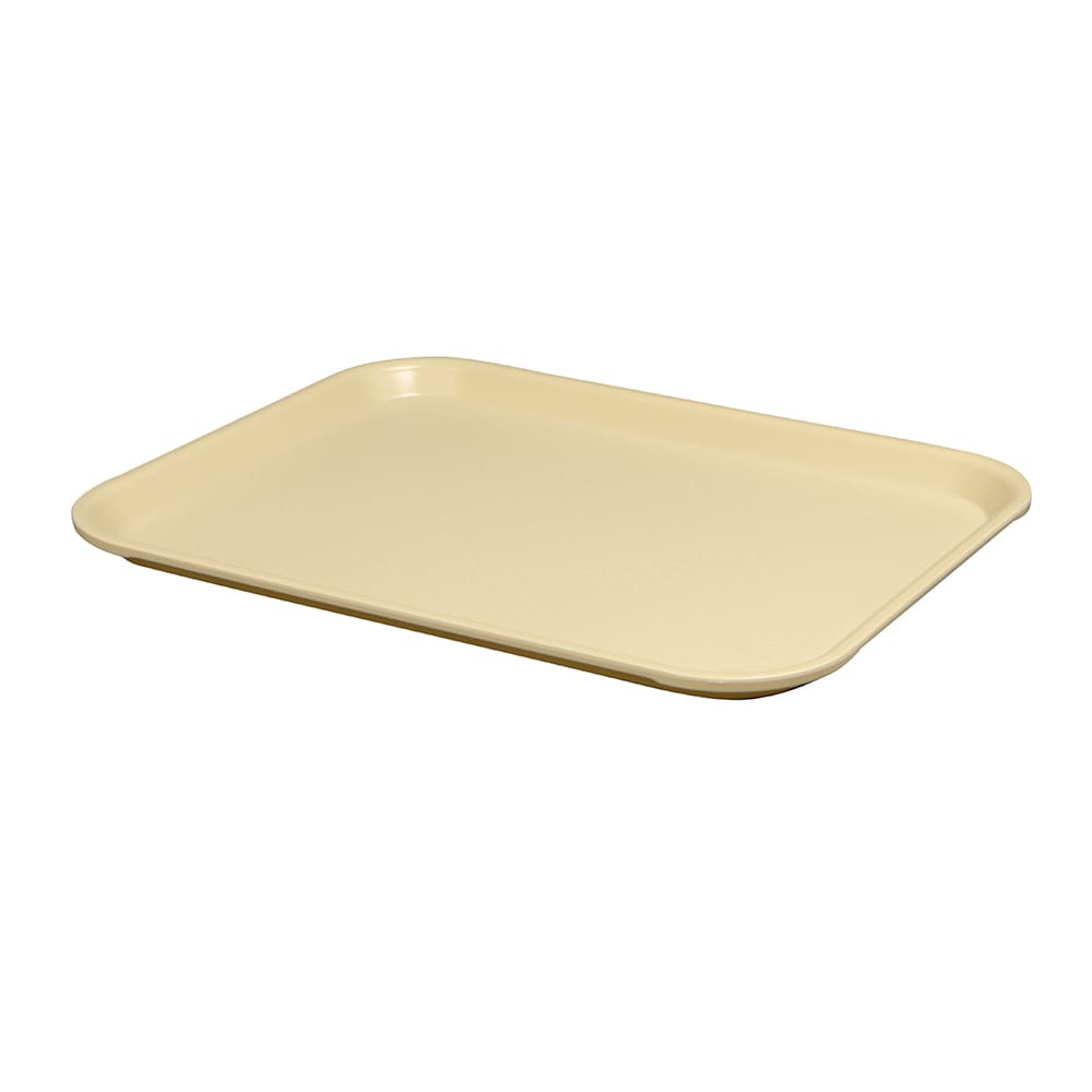 """Vollrath 86126 Fast Food Tray - 14x18"""" Almond Poly"""