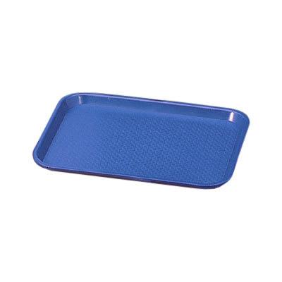 "Vollrath 86127 Fast Food Tray - 14x18"" Royal Blue Poly"