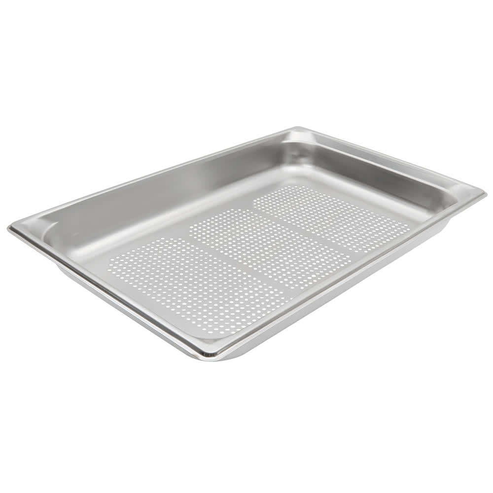 Vollrath 90023 Super Pan 3 Full-Size Steam Pan, Stainless