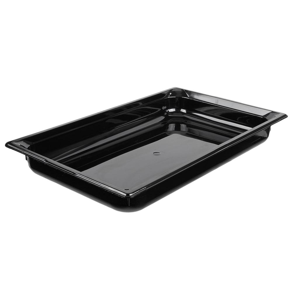 "Vollrath 9002420 Full-Size Hot Food Pan - 2-1/2"" Deep, Black"