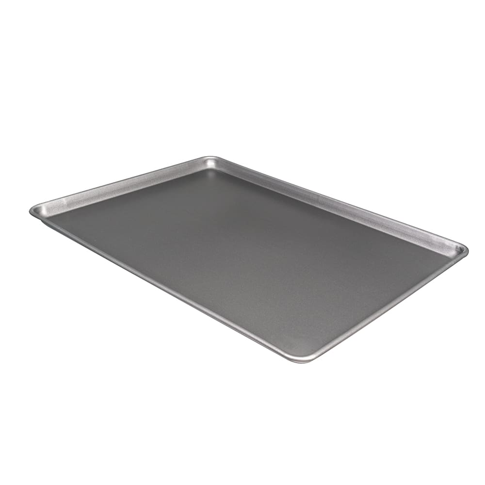 "Vollrath 9002NS 1/1 Full Size Bun / Sheet Pan - 26"" x 18"" x 1"", 18 gauge Aluminum"