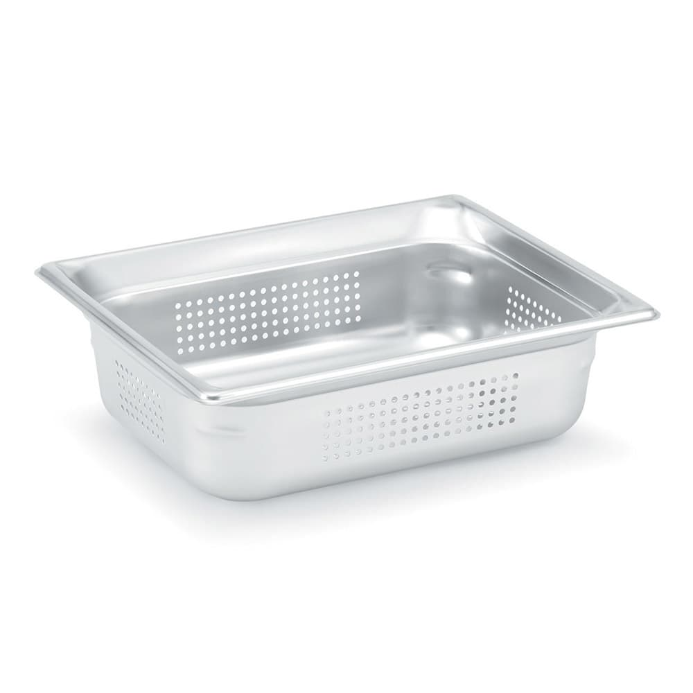 Vollrath 90213 Super Pan 3 Half-Size Steam Pan, Stainless