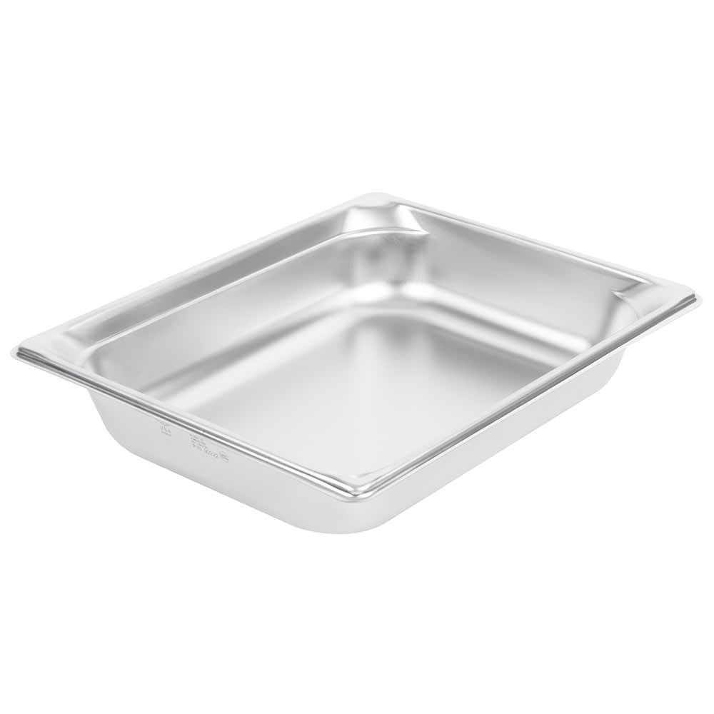 Vollrath 90222 Super Pan 3 Half-Size Steam Pan, Stainless