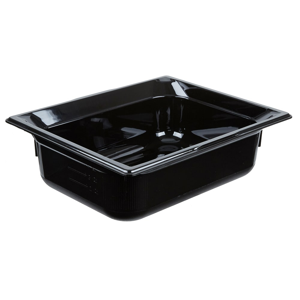 "Vollrath 9024420 Half-Size Hot Food Pan - 4"" Deep, Black"
