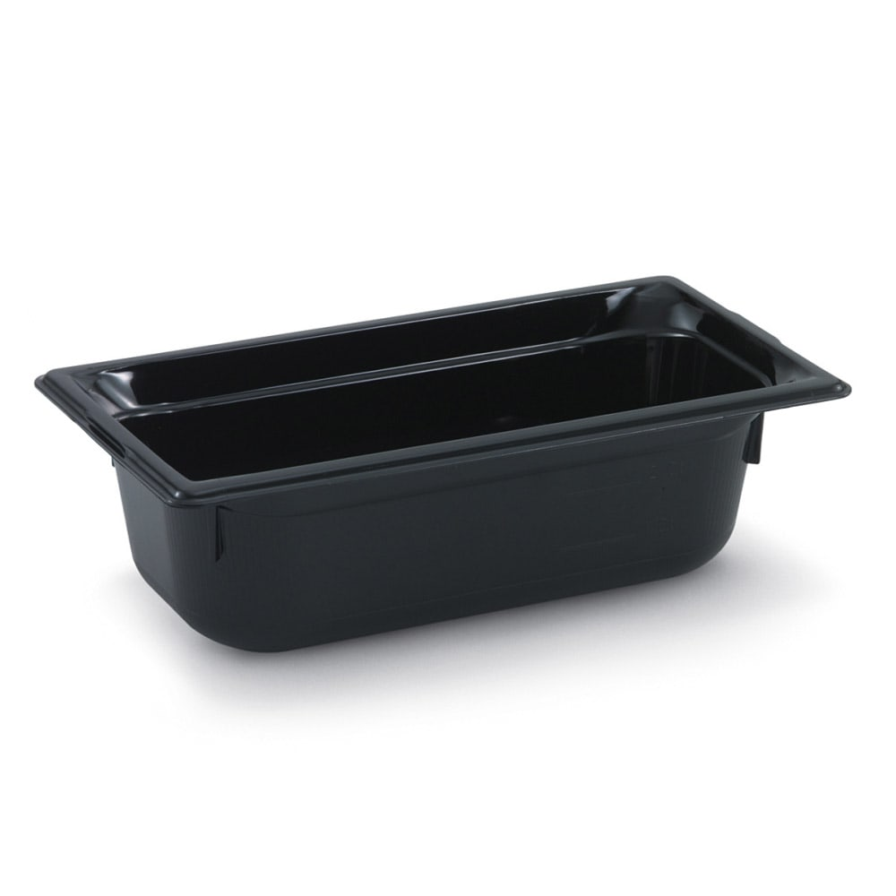 "Vollrath 9026420 Half-Size Hot Food Pan - 6"" Deep, Black"