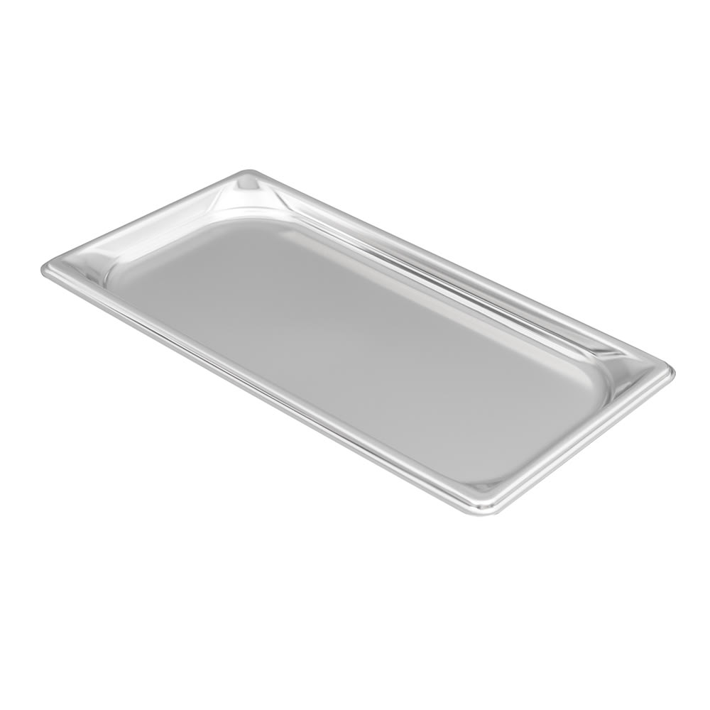 Vollrath 90302 Super Pan 3 Third-Size Steam Pan, Stainless