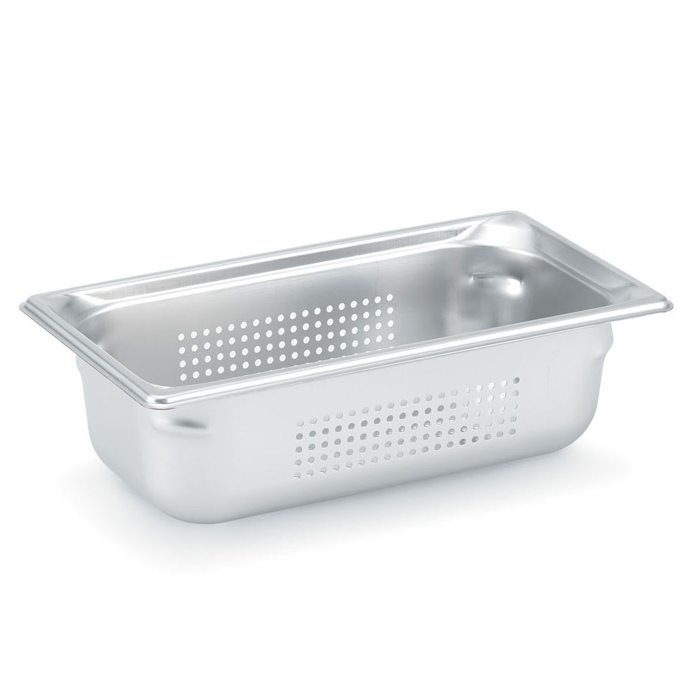 Vollrath 90313 Super Pan 3 Third-Size Steam Pan, Stainless