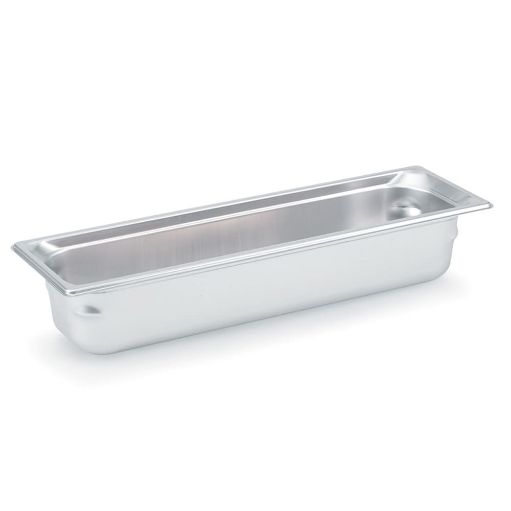 Vollrath 90502 Super Pan 3 Half-Size Long Steam Pan, Stainless