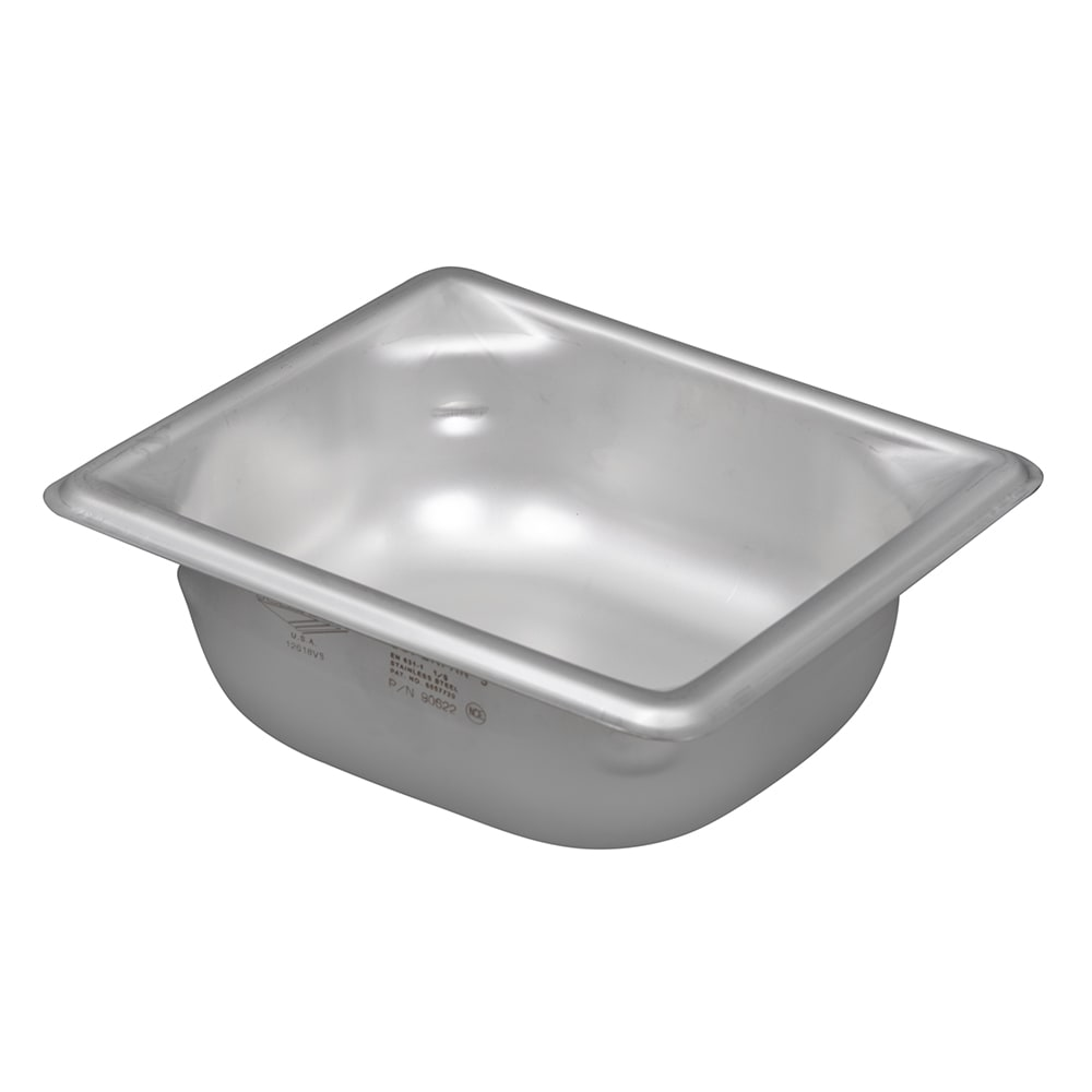 Vollrath 90622 Super Pan 3 Sixth-Size Steam Pan, Stainless