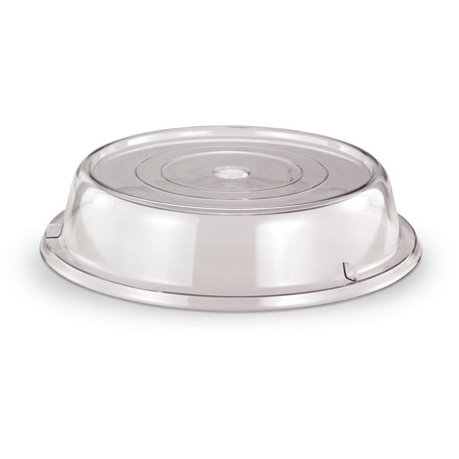 "Vollrath 918-13 Safe-Stack Plate Cover - Fits Plates 8 1/2 9 1/8"" Poly Clear"