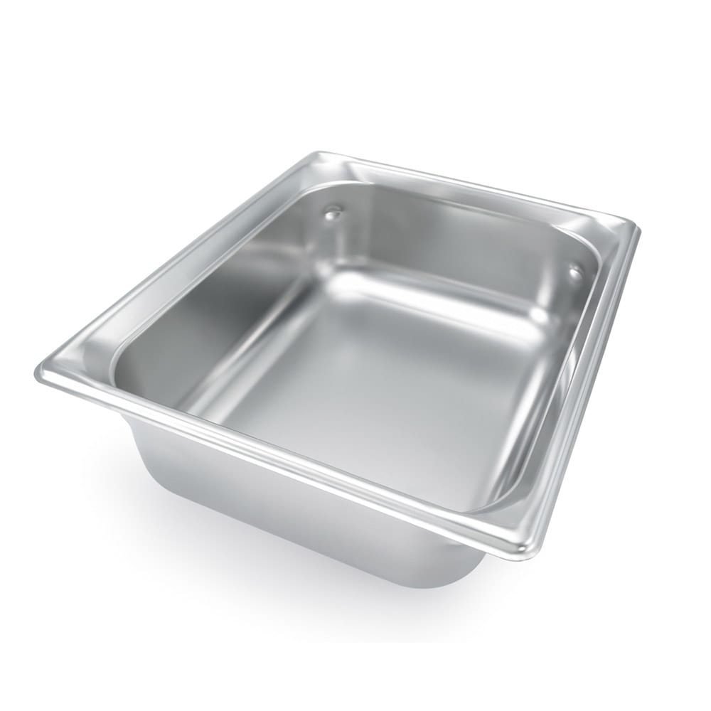 Vollrath 92052 Super Pan 3 Double-Size Steam Pan, Stainless