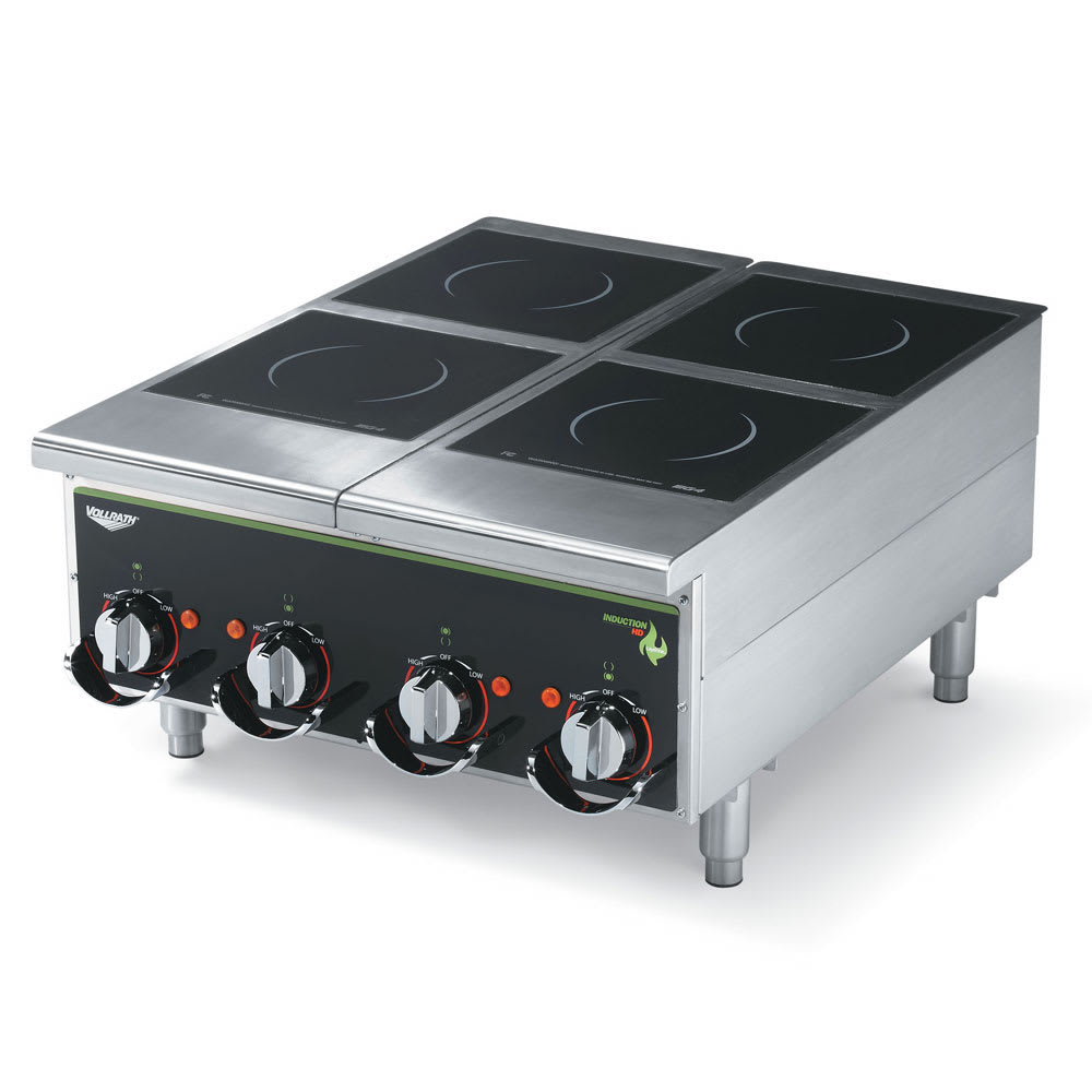 Vollrath 924HIMC Countertop Commercial Induction Cooktop w/ (4) Burners, 208-240v/1ph