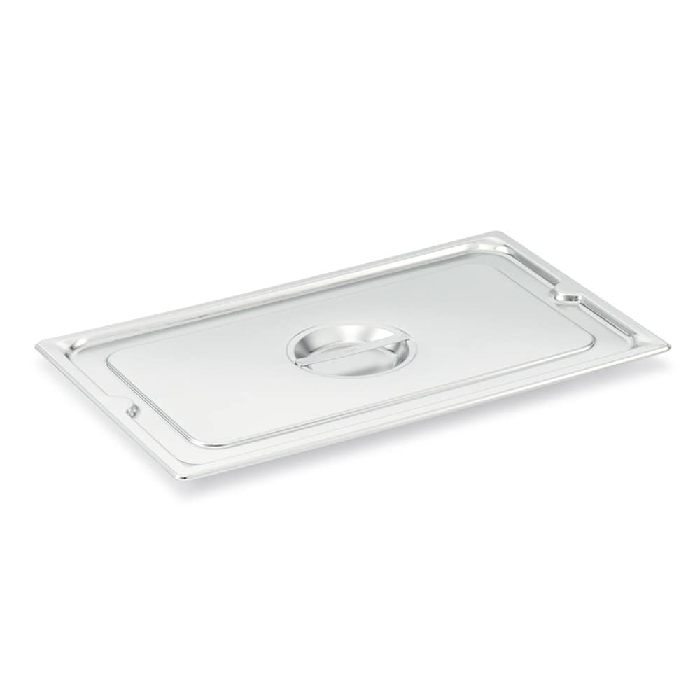 Vollrath 93110 Two-Third Size Steam Pan Cover, Stainless