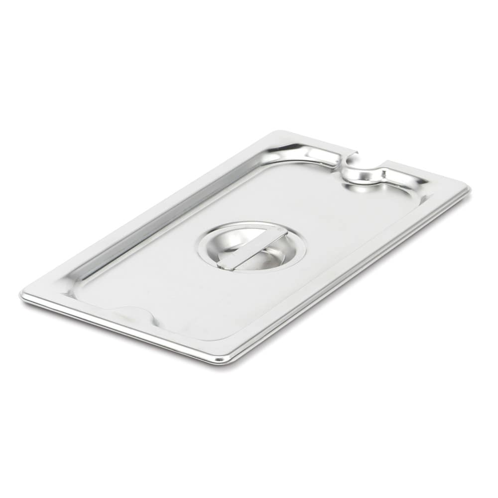 Vollrath 94100 Full-Size Slotted Steam Pan Cover, Stainless