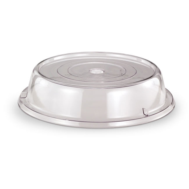 "Vollrath 958-13 Safe-Stack Plate Cover - Fits Plates 9 1/8 9 5/8"" Poly Clear"