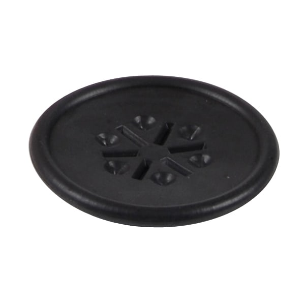 Vollrath 9601-06 Six-Hole Diffuser - Black